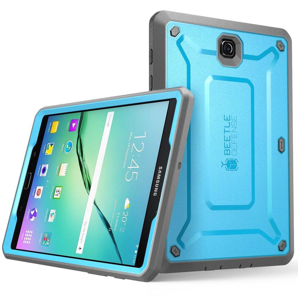 "Amazon: SUPCASE Galaxy Tab S2 9.7"" Unicorn Beetle Pro Case - Blue/Black"