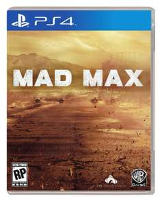 Cyber Monday 2016 Amazon: Mad Max para PS4