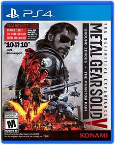 Black Friday Amazon MEX-EUA: Metal Gear Solid V Definitive PS4