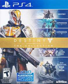 Black Friday 2016 Amazon: Destiny The Collection PS4