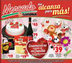 Folleto Mercado Soriana febrero 3: 30% de descuento en ropa interior Fruit of the Loom, Vicky Form y más