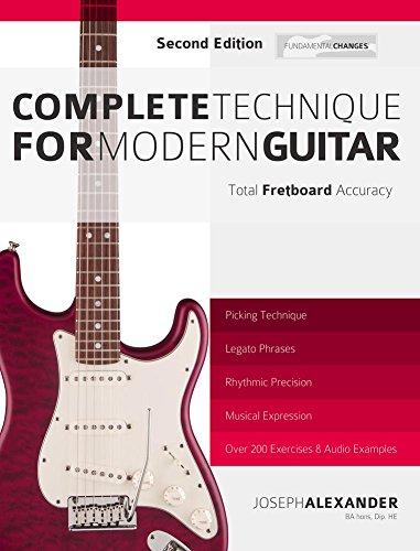 GRATIS (en ingles)- Técnica Completa Para Guitarra Moderna: Total Exactitud En El Diapasón Edición Kindle