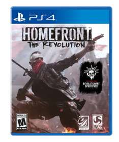 Black Friday 2016 Amazon: Homefront The Revolution para PS4/Xbox One