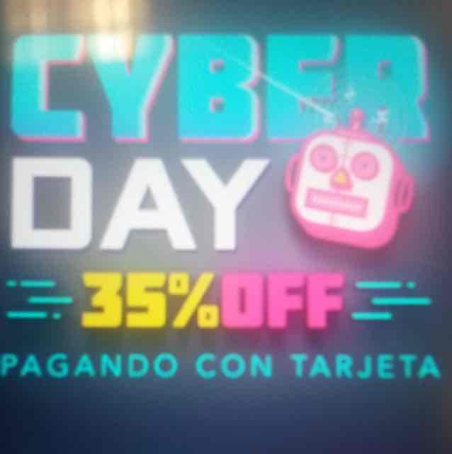 Cyber Monday en Rappi: 35% de descuento pagando con tarjeta