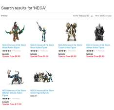 Black Friday en Blizzard: Heroes Of The Storm Figuras Neca a 6.66 DLS + 5 DLS de envio