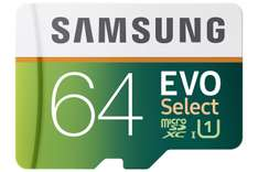Black Friday 2016 en Amazon: Samsung EVO Select Micro SDXC Memory Card, 64GB, 80MB/s