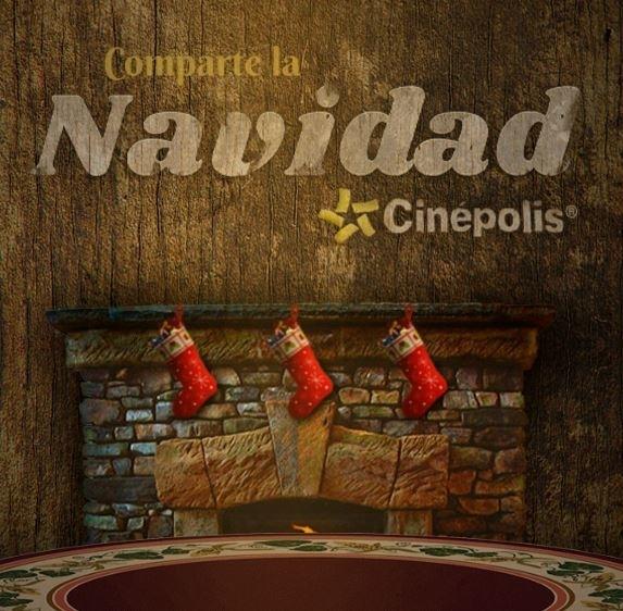 Navidad Cinepolis 2016  del   1  al   21 de Dic