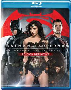 Black Friday Amazon: Batman vs. Superman: El Origen de la Justicia (Blu-ray+Blu-rayExt+DVD+Copia Digital)