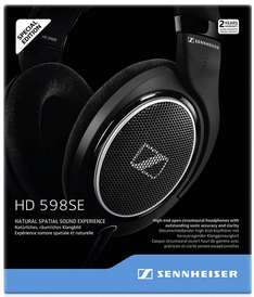 Black Friday en Amazon: Sennheiser HD 598 Audífonos Abiertos Circumaurales de Diadema