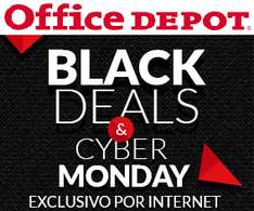Office Depot: Ofertas de Black Deals & Cyber Monday: Descuentos en Apple, 3x2 en consumibles y más