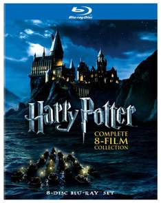 Black Friday 2016 Amazon MX: Harry Potter (Colección Completa) [Blu-ray]