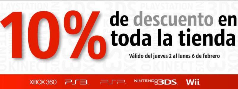 Game Planet: 10% de descuento en toda la tienda durante el puente