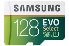 Black Friday 2016 Amazon: Samsung EVO Select Micro SDXC Memory Card, 128GB, 80MB/s