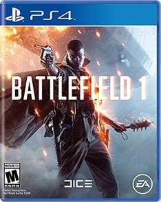 Amazon MX: Battlefield 1 PS4