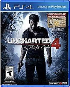 Black Friday 2016 Amazon MX: Uncharted 4 A Thief's End - PlayStation 4 - Standard Edition