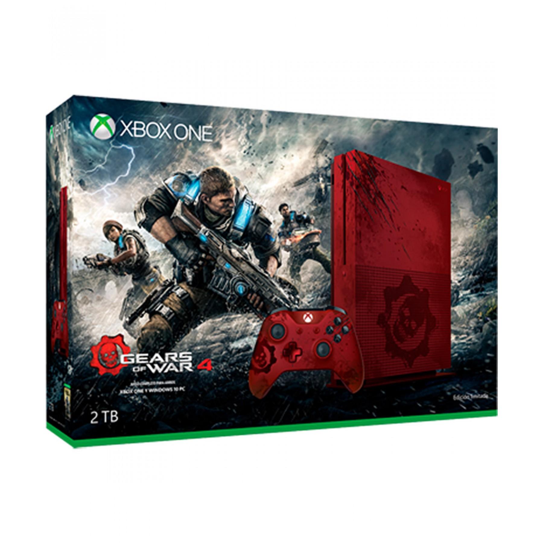 PALACIO DE HIERRO: XBOX ONE CONSOLA XBOX ONE S 2 TB + GEARS OF WAR 4 + XBOX LIVE 12 MESEs