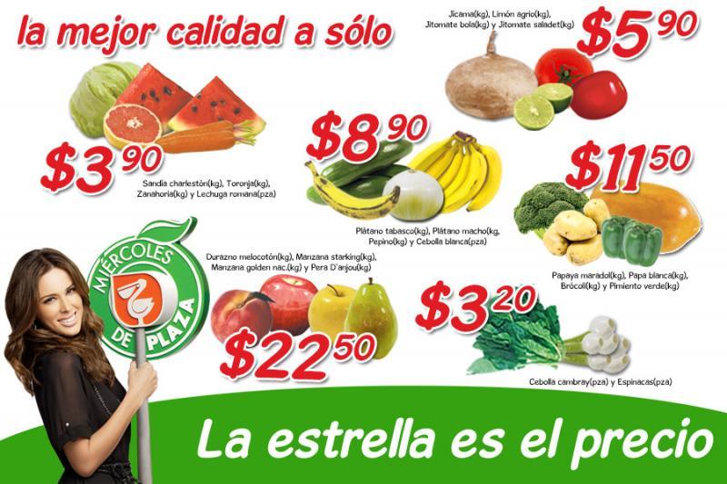 Miércoles de Plaza en La Comer febrero 1: sandía $3.90, jitomate $5.90 y más