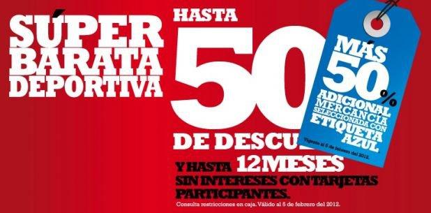 Martí: 50% de descuento adicional en mercancía con etiqueta azul