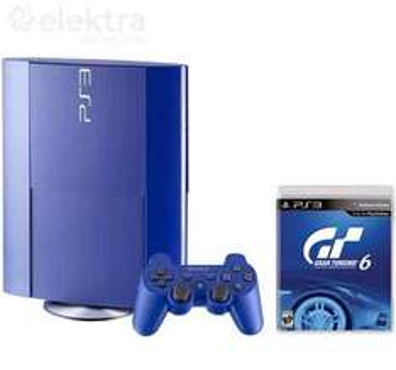 Elektra: PS3 de 250GB con Gran Turismo 6 $3,799