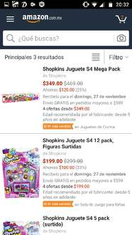 Black Friday en Amazon: Varios paquetes de Shopkins