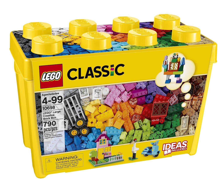 Black Friday en Amazon MX: Caja de Lego de 790 piezas $639 ($576 Pagando con BANCOMER)