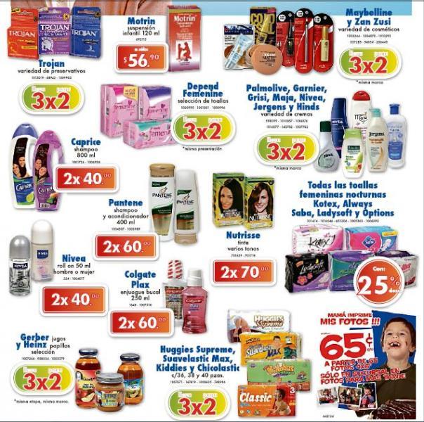 Farmacias Benavides: 3x2 en Trojan, Huggies Supreme, Gerber, Maybelline y más