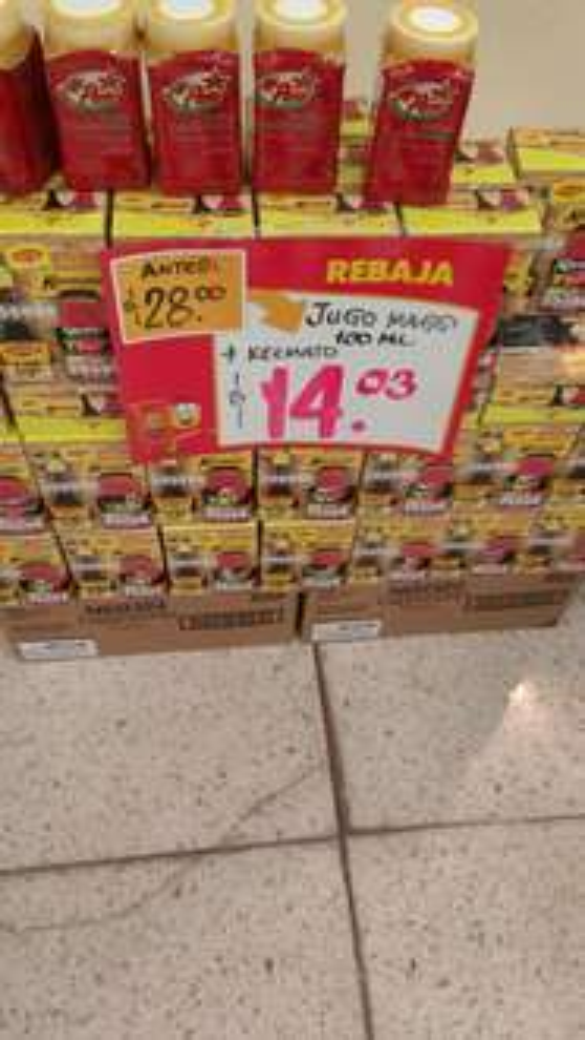 Walmart: Jugo  Maggi con Kermmato y más