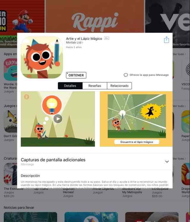 App Store:app gratis de la semana Artie y el lápiz mágico