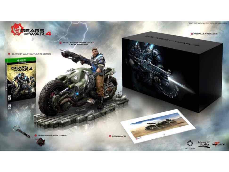 Liverpool: Gears of War 4 edición de colección