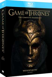 Cyber Monday en Amazon MX: Game of Thrones Temporadas 1-5 Blu-Ray hasta en $891