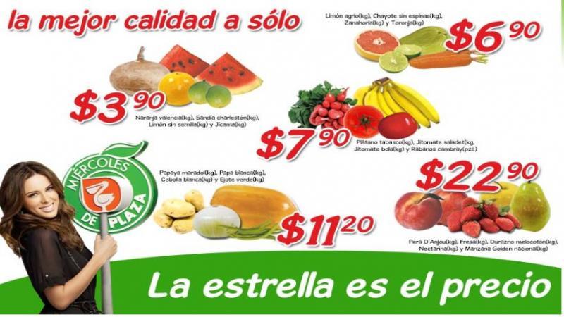 Miércoles de Plaza en La Comer enero 25: naranja, sandía y jícama $3.90 y más