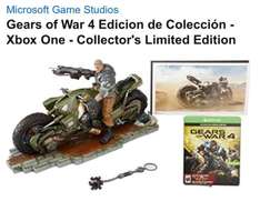 Amazon: Gears of War 4 Edicion de Colección - Xbox One - Collector's Limited Edition ($3,600 con Bancomer)