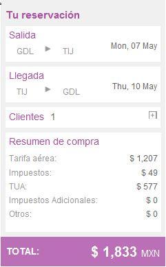 Volaris: viaja desde y hacia Tijuana desde $1,833 redondo