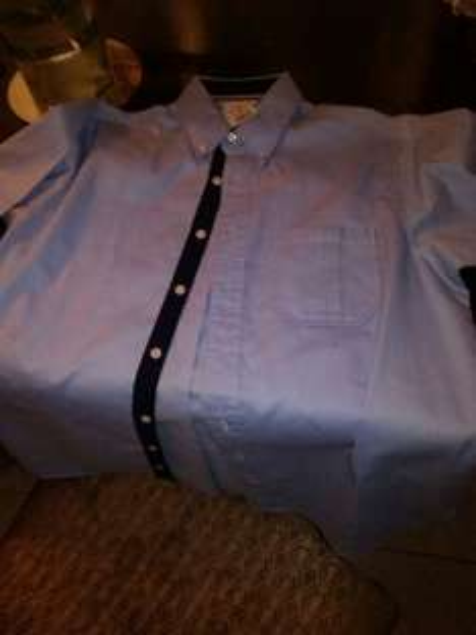 Walmart Galerias Saltillo: Camisa de vestir manga corta Marca COSMO&CO a $20.01