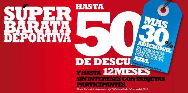 Martí: 30% de descuento adicional en mercancía con etiqueta azul