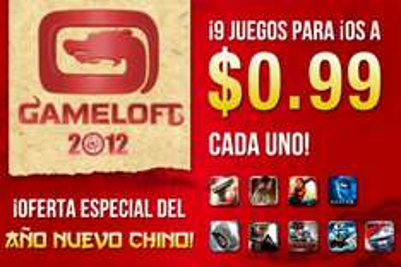 9 juegos de Gameloft para iPhone a $12