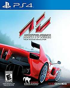 Cyber Monday en Amazon: Asseto Corsa para PS4 a $632