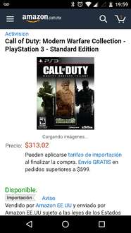 Cyber Monday en Amazon: Call of Duty, Modern Warfare Collection para PS3