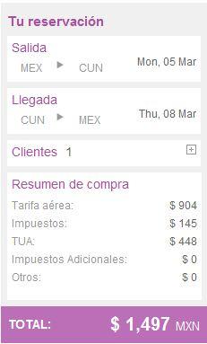 Volaris: vuelos a Cancún desde $1,600 redondo, a Los Cabos desde $2,500 y más