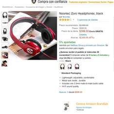 Amazon: Noontec Zoro Headphones, black