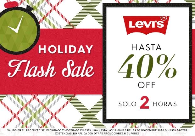 Ösom: Levi's hasta 40% de descuento durante las siguientes dos horas