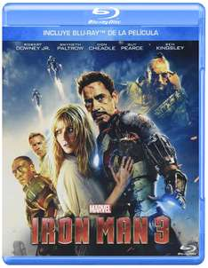 Amazon: Iron Man 3 en Blu-Ray a $49