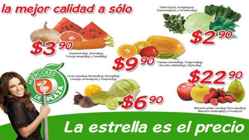 Miércoles de Plaza La Comer enero 18: jícama y sandía $3.90 y más