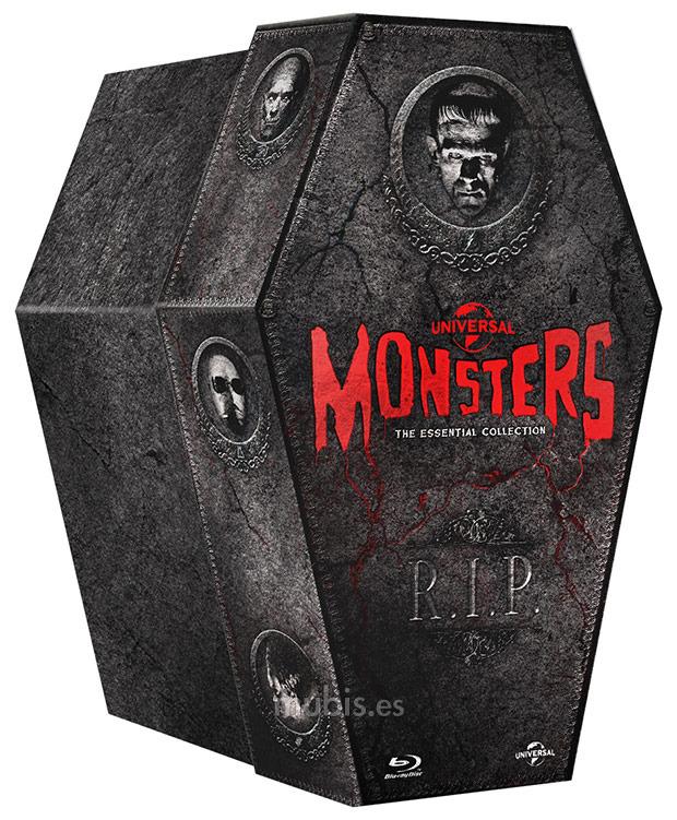 Amazon MX: [Blu-ray] Colección de Monstruos Clásicos Universal contiene 9 películas  de  $806.86 a $605.15