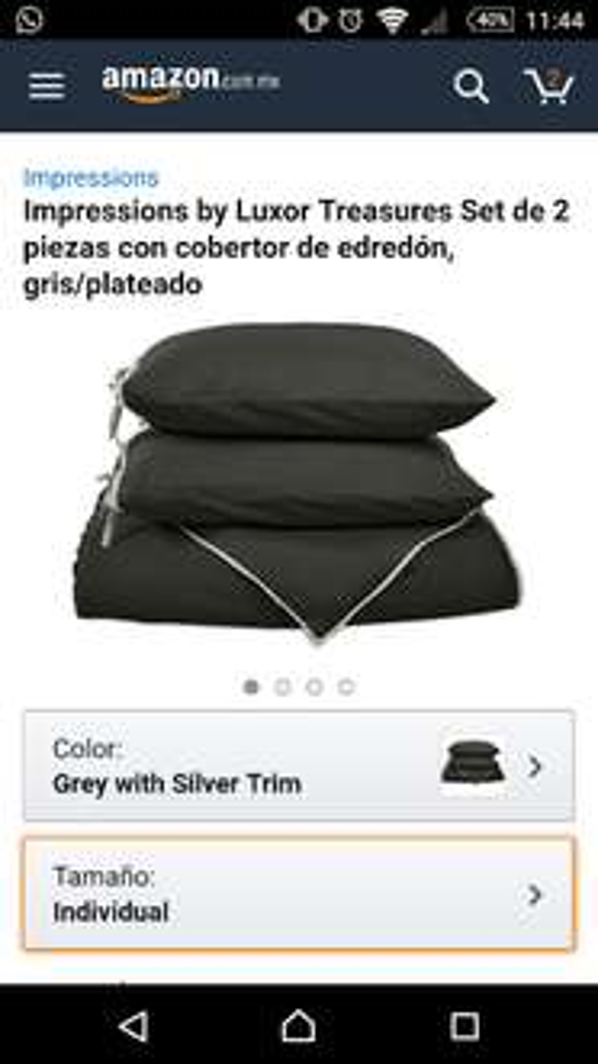 Amazon: Cobertor y funda individual en $270