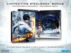 Amazon: The King of Fighters XIV - Edicion Steelbook - PlayStation 4 - Limited Edition