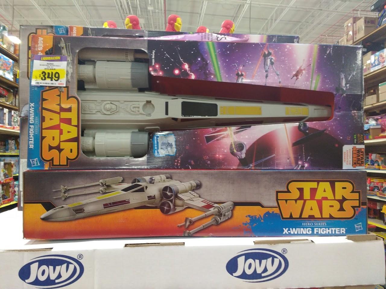 HEB Santa Catarina: Star Wars X-Wing Fighter de hasbro