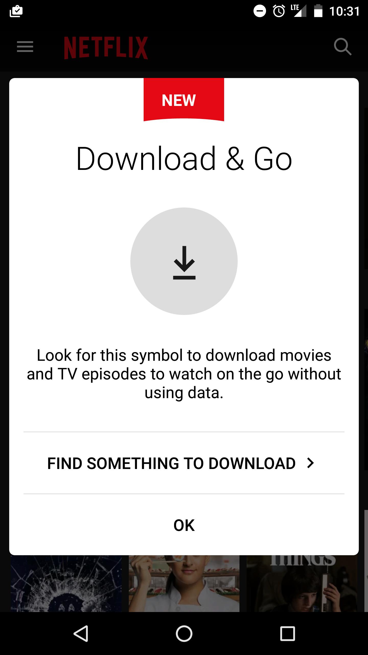 Netflix: Download & Go; descarga peliculas y series con tu suscripción para ver contenido offline