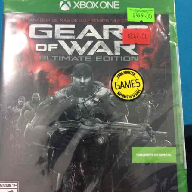 Mixup: Gears of War a mitad de precio