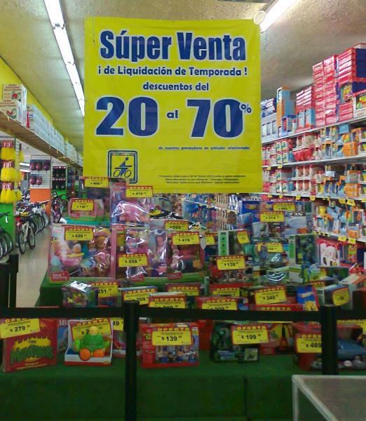 Julio Cepeda: liquidación del 20% al 70% de descuento